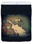 Angel Trumpeter Duvet Cover