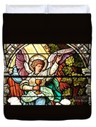 Angel With A Chalice Duvet Cover