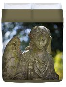 Angel With Broken Arm II Cave Hill Cemetery Louisville Kentucky  Duvet Cover
