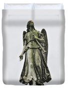 Angel With Trumpet Duvet Cover