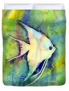 Angelfish I Duvet Cover by Hailey E Herrera