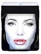 Angeline Jolie Duvet Cover