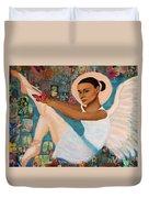 Angelique Earthangel From France Duvet Cover