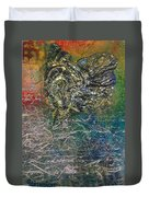Angels And Mermaids Duvet Cover by Cindy Johnston