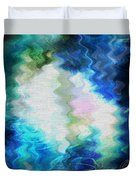 Angels Of Peace Duvet Cover