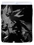 Angels Or Dragons B/w Duvet Cover