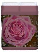 Angel's Pink Rose Duvet Cover