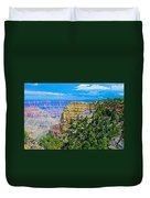 Angel's Window At Cape Royal On North Rim Of Grand Canyon-arizona Duvet Cover