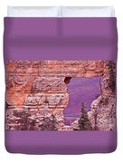 Angel's Window  Grand Canyon Duvet Cover