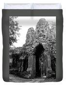 Angkor Thom East Gate 01 Duvet Cover