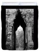 Angkor Thom East Gate 03 Duvet Cover