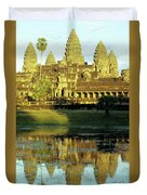 Angkor Wat Reflections 02 Duvet Cover