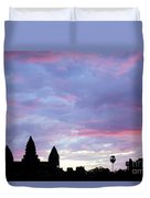 Angkor Wat Sunrise 02 Duvet Cover