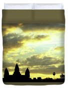 Angkor Wat Sunrise 03 Duvet Cover