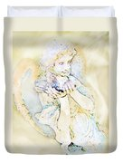 Angle With Dove Photoart Duvet Cover