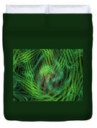 Angle Worms Duvet Cover