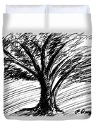 Angry Tree Duvet Cover