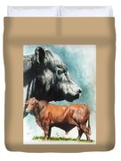 Angus Cattle Duvet Cover