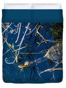 Anhinga Everglades Duvet Cover