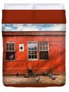 Animal - Bird - Bird Watching Duvet Cover