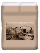 Animal Bones Duvet Cover