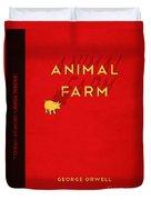 Animal Farm Book Cover Poster Art 2 Duvet Cover