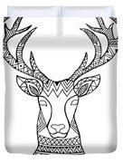 Animal Head Deer Duvet Cover by MGL Meiklejohn Graphics Licensing