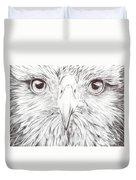 Animal Kingdom Series - Bird Of Prey Duvet Cover