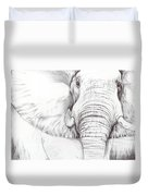 Animal Kingdom Series - Gentle Giant Duvet Cover