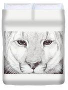 Animal Kingdom Series - Mountain Lion Duvet Cover