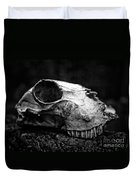 Animal Skull Duvet Cover
