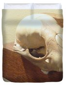 Animal Skull Mantel 1 12 2011 Duvet Cover