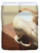 Animal Skull Mantel 2 12 2011 Duvet Cover