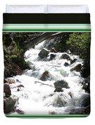 Animas River Southern Colorado Duvet Cover