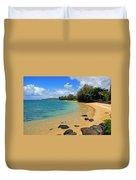 Anini Beach Duvet Cover