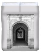 Ann Arbor Michigan Archway Duvet Cover