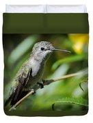Anna Hummingbird Duvet Cover