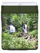 Anna Ruby Falls - Georgia - 1 Duvet Cover