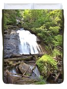 Anna Ruby Falls - Georgia - 4 Duvet Cover