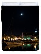 Annapolis Maryland Panorama Duvet Cover
