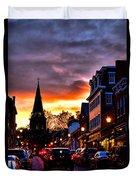 Annapolis Night Duvet Cover