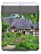 Anne Hathaways Cottage 5975 Duvet Cover
