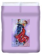 Anniversary Dance Painting  Duvet Cover