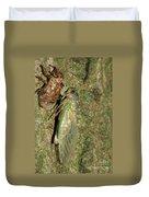 Annual Cicada Duvet Cover