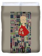Anonymus Duvet Cover