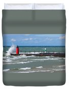 Another Big Wind Duvet Cover