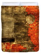 Another Brick In The Wall Duvet Cover by Thomas Young