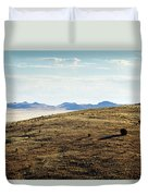 Another Color View Of West Texas Duvet Cover