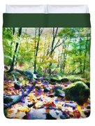 Another Enchanted Forest Duvet Cover