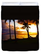 Another Maui Sunset Duvet Cover